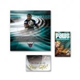 CD cover, gift card, membership card