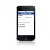 Win@Sales iPhone Application
